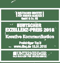 Deutscher Exzellenz Preis V2 400x400px 1 | Awards | Autoactiva Werbeagentur