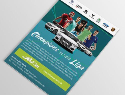 Sportanzeige Mockup V2 | Anzeigen | Autoactiva Werbeagentur