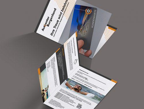 AC Burgenland Kundenkartenheftchen 780x780px | Broschüre | Autoactiva Werbeagentur
