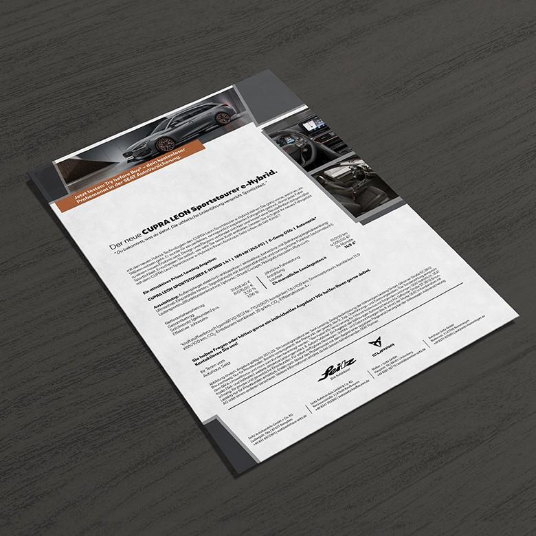 Cupra Leon | Mailings | Autoactiva Werbeagentur